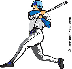 Vector - ballplayer