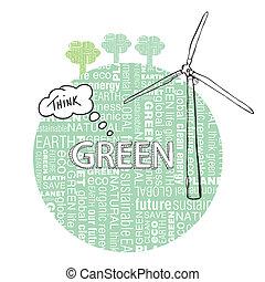 Environmental Concept Earth