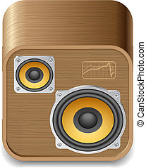 Icon for speakers