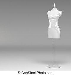 3d female fashion mannequin