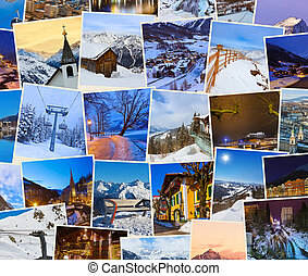 Stack of mountains ski Austria images my photos - Stack of...
