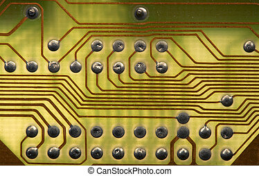 Circuitboard background in hi-tech style