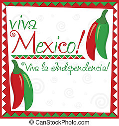 Mexican Independence Day - Mexican Independence Day card in...