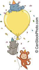 Birthday Safari Balloon