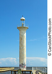 Biloxi Lighthouse in Mississippi, USA. - Biloxi Lighthouse...