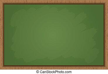 Blank School Blackboard