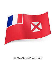 Flag of Wallis and Futuna.
