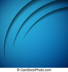 Abstract 3D background blue colour vector illustration