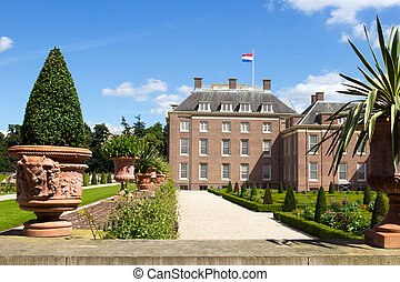 Palace het Loo - Palace het Loo and gardens Apeldoorn, The...