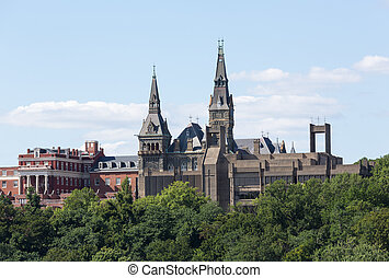Healy Hall Georgetown University - Healy Hall is the...