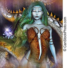 Fantasy and Magic - Fantasy and magic image of a...