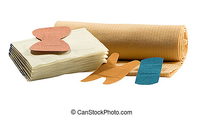 BANDAGES - various sizes of bandages for emergency