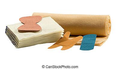 BANDAGES - various sizes of bandages for emergency