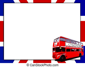 Blank Sign And Bus