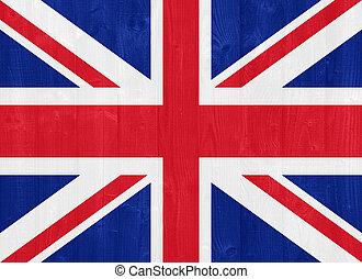 United Kingdom flag - gorgeous United Kingdom flag painted...