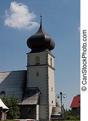 Karpacz City in Karkonosze in Poland