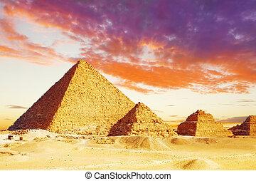 Great Pyramid located at Giza - Great Pyramid , located at...