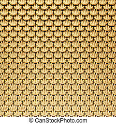 squama - gold squama. abstract background.