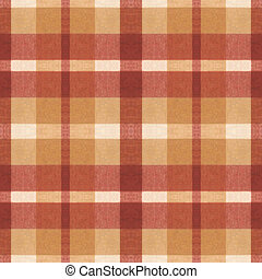 Tissue - Stamless texture fabric in a cage beige brown color