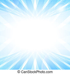 Abstract smooth light blue perspective background vector...