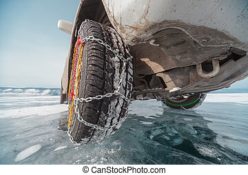 Winter tyres in extreme cold temperature