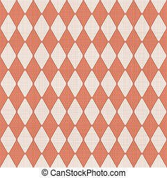 abstract geometric seamless pattern in faded orange