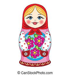 russo, boneca