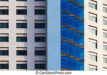 Fenster außen modern  Stock Bilder von gebäude, modern, hotel, fenster, außen, weißes ...