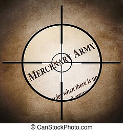 Mercenary army