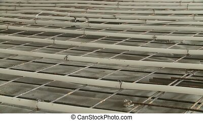 underfloor heating, Construction Site - video footage of a...