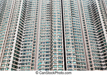 Building block - HONG KONG, CHINA - FEBRUARY 21: Building...