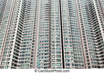 Building block - HONG KONG, CHINA - FEBRUARY 21: Building...