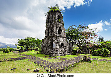 Cagsawa ruins - Cagsawa Ruins are the remnants of an 18th...