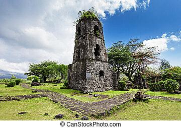 Cagsawa ruins - Cagsawa Ruins are the remnants of an 18th...
