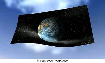 Global Flag Animation