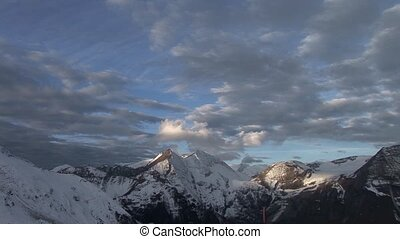 Gro?glockner Mountain, Alps, Austria - video footage of the...