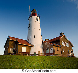lighthouse in Urk - beautiful lighthouse in Urk, The...