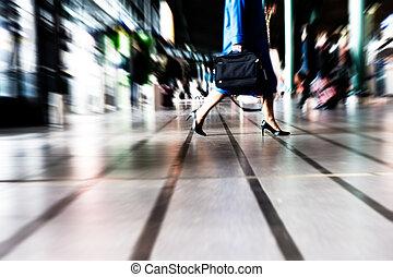 pessoas, viajando