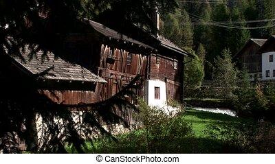 Hut, Mountains, Austria