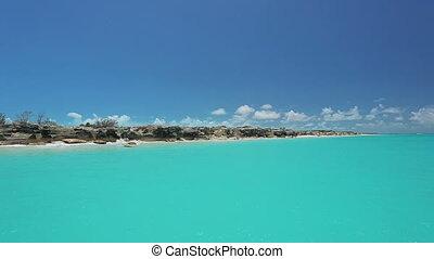 beautiful tropical sea, caribbean