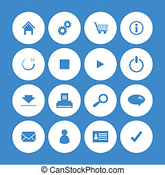 various web icons with special design