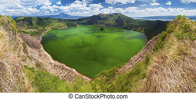 Taal volcano, Manila, Philippines - Taal - the smallest in...