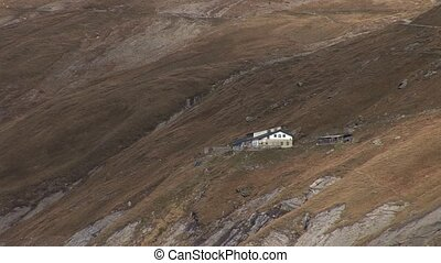Alpine Hut - video footage of Alpine Hut in the Austrian...