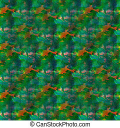 wallpaper bright green red background seamless handmade watercolor