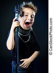 young singer