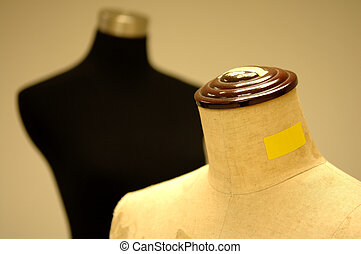 Tailor dummy - The detail of tailor or dressmaker dummy