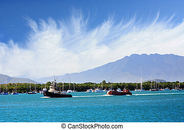 beautiful port of Cairns,North Queensland Australia