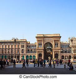 Galleria Vittorio Emanuele II, Milan - View of Galleria...