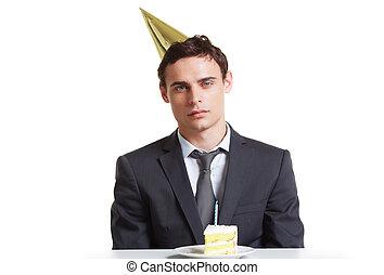 Businessman birthday