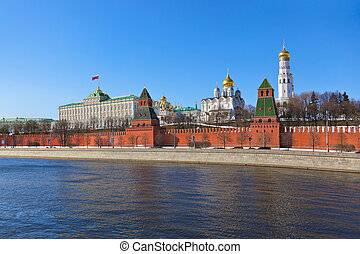 Kremlin in Moscow (Russia)